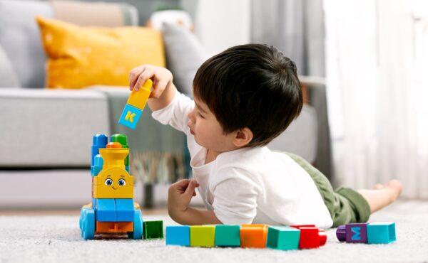 Mega first Builders - Impara con il treno! Maschio 0-12 Mesi, 12-36 Mesi, 12+ Anni, 8-12 Anni ALTRI MEGA BLOKS