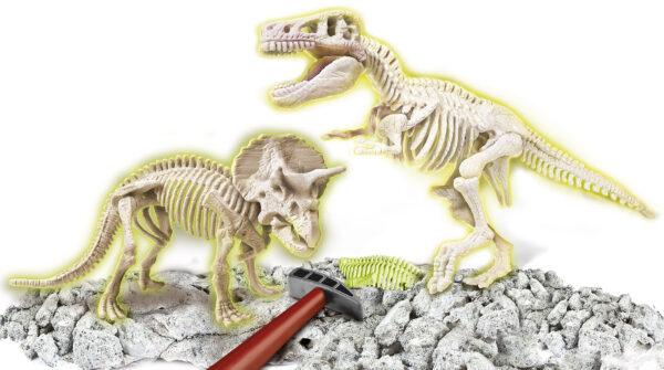 Archeogioc T-Rex & Triceratopo - Focus / Scienza&gioco - Toys Center ALTRI Unisex 5-7 Anni, 8-12 Anni FOCUS / SCIENZA&GIOCO