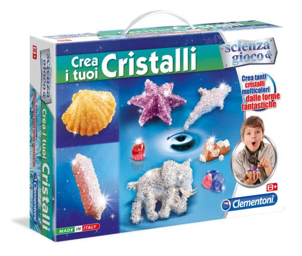 Crea I Tuoi Cristalli - Focus / Scienza&gioco - Toys Center FOCUS / SCIENZA&GIOCO Unisex 12+ Anni, 8-12 Anni ALTRI