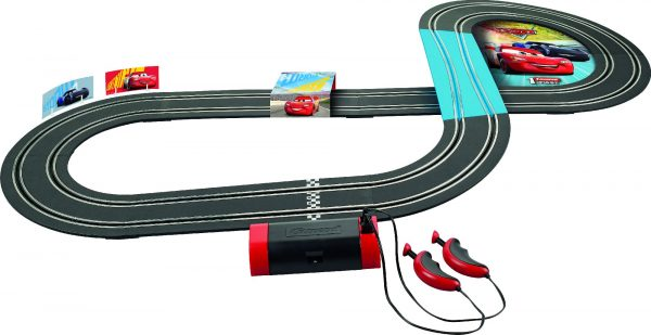 Lightning McQueen vs Jackson Storm - DISNEY - PIXAR - Piste giocattolo e accessori elettrici