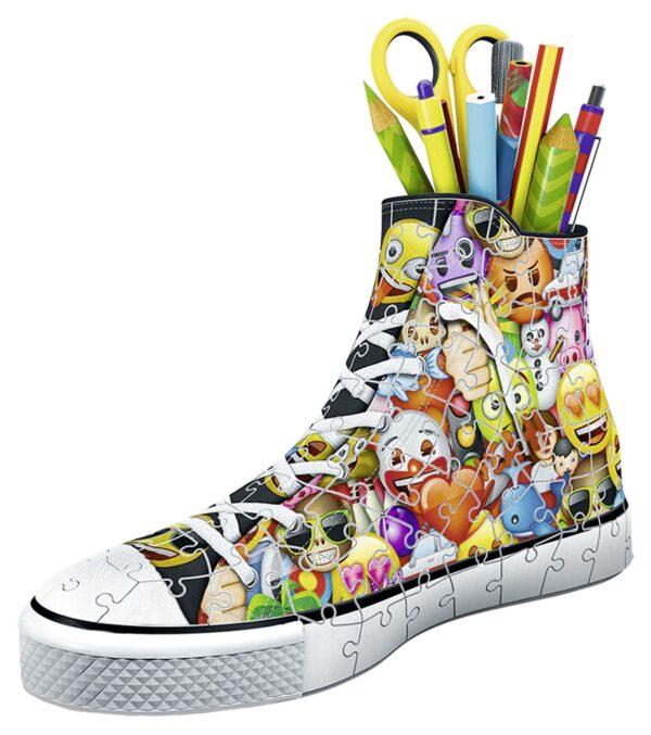 ALTRO EMOJI 3D Puzzle Sneaker - Emoji - Altro - Toys Center Unisex 12+ Anni, 5-8 Anni, 8-12 Anni