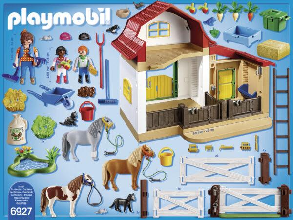 Maneggio dei Pony - Giocattoli Toys Center ALTRI Unisex 3-4 Anni, 3-5 Anni, 5-7 Anni, 5-8 Anni, 8-12 Anni PLAYMOBIL - COUNTRY