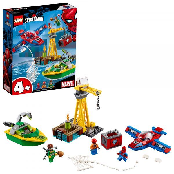 76134 - Spider-Man: la rapina di diamanti di Doc Ock - Lego Super Heroes - Toys Center LEGO SUPER HEROES Unisex 12+ Anni, 3-5 Anni, 5-8 Anni, 8-12 Anni ALTRI
