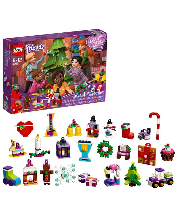 LEGO Friends  - Calendario dell'Avvento 2018 41353 LEGO FRIENDS Unisex 12+ Anni, 5-8 Anni, 8-12 Anni ALTRI