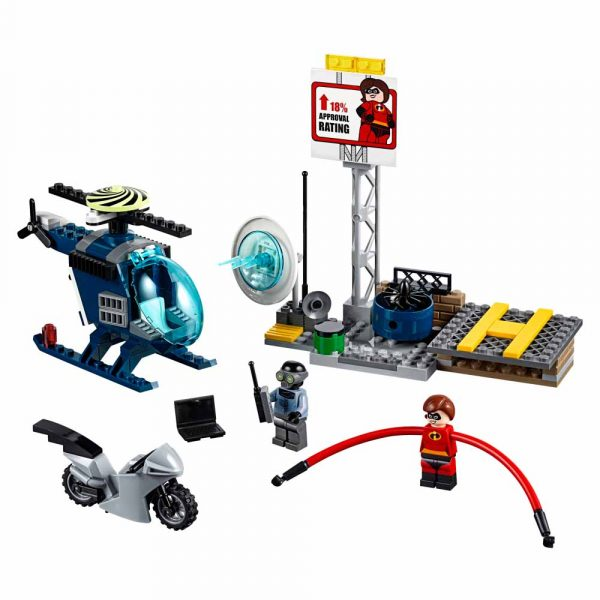 LEGO JUNIORS Gli Incredibili 2 10759 - Inseguimento sul tetto di Elastigirl - Best Seller Disney - DISNEY - Marche Unisex 3-5 Anni, 5-8 Anni