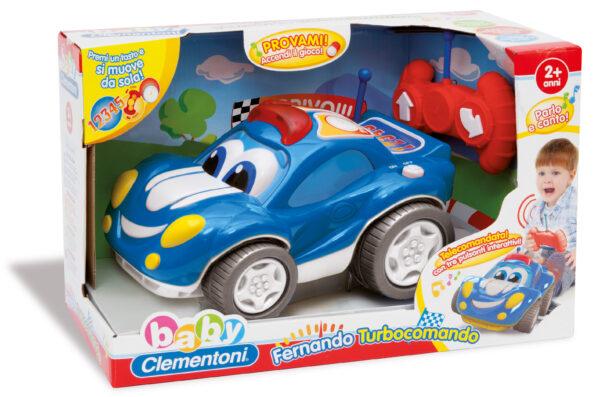 CLEMENTONI - 14961 - Fernando Turbocomando ALTRI Unisex 12-36 Mesi, 3-4 Anni, 3-5 Anni BABY CLEMENTONI