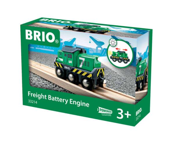 BRIO locomotiva per treno merci a batterie BRIO Unisex 12-36 Mesi, 3-4 Anni, 3-5 Anni, 5-7 Anni, 5-8 Anni ALTRI