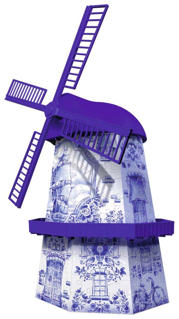 ALTRO ALTRI 3D Puzzle Building - Mulino Olandese - Altro - Toys Center Unisex 12+ Anni, 8-12 Anni