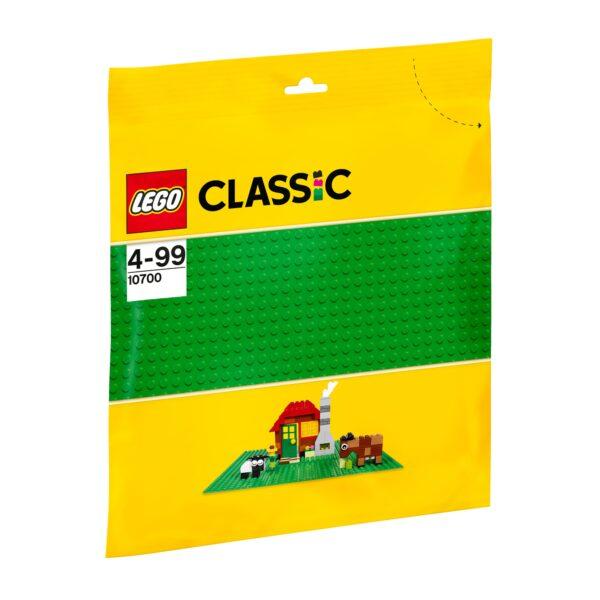 10700 - Base verde LEGO CLASSIC Unisex 3-5 Anni, 5-8 Anni ALTRI