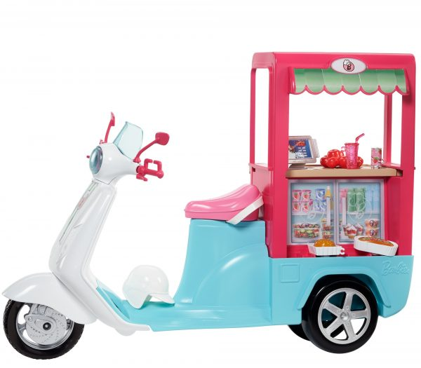 Barbie - Scooter Street Food, con tanti accessori realistici - FHR08 ALTRI Femmina 12-36 Mesi, 12+ Anni, 3-5 Anni, 5-8 Anni, 8-12 Anni ENCHANTIMALS