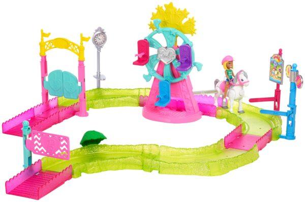 Barbie parti e vai - Parti e Vai Luna Park, bambola e pony inclusi e pezzi componibili - FHV70 ALTRI Femmina 12+ Anni, 3-5 Anni, 5-8 Anni, 8-12 Anni Barbie