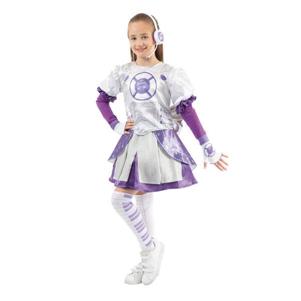 Giochi Preziosi - Miracle Tunes Travestimento Emily, Colore Viola, con cuffie, taglia S - Giocattoli Toys Center - ALTRO - Giochi di emulazione