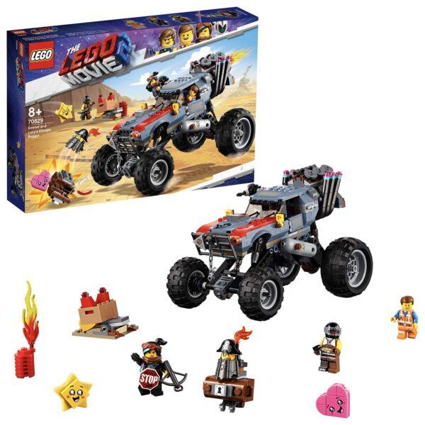 70829 - Il Buggy fuggi-fuggi di Emmet e Lucy! - The LEGO Movie 2 - LEGO - Marche - ALTRO - Costruzioni