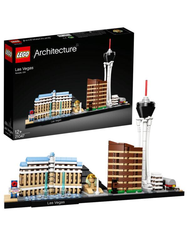21047 - Las Vegas LEGO ARCHITECTURE Unisex 12+ Anni, 5-8 Anni, 8-12 Anni ALTRI