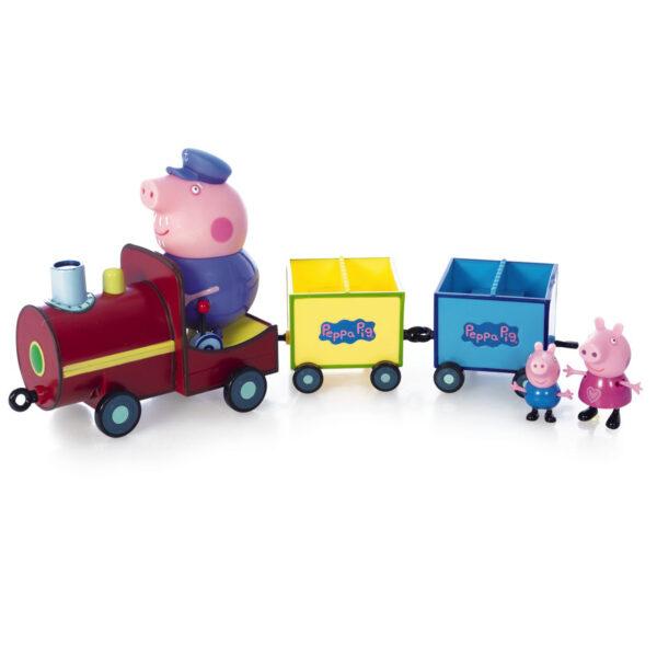 Giochi Preziosi  - Peppa Pig. Il treno di Nonno Pig ALTRO Unisex 12-36 Mesi, 3-4 Anni, 3-5 Anni, 5-7 Anni, 5-8 Anni PEPPA PIG