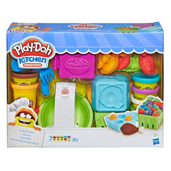Play-Doh – Il Supermercato PLAY-DOH Unisex 12-36 Mesi, 12+ Anni, 8-12 Anni ALTRI