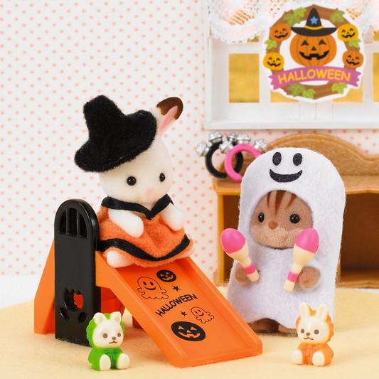 Halloween Set (ed lim) c/2 per - SYLVANIAN FAMILIES - Playset e accessori per personaggi d'azione