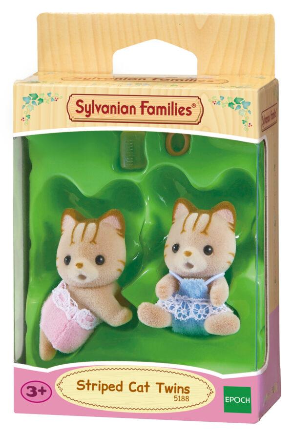Sylvanian Families – Gemelli gatti striati SYLVANIAN FAMILIES Femmina 12-36 Mesi, 3-4 Anni, 3-5 Anni, 5-7 Anni, 5-8 Anni, 8-12 Anni ALTRI