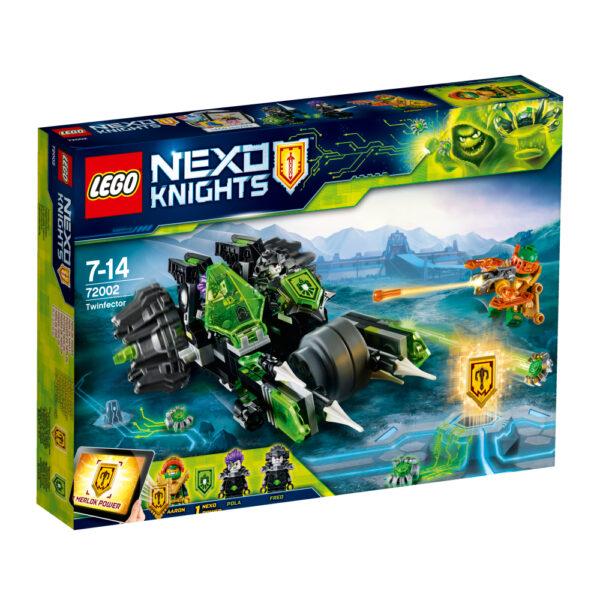 72002 - Twinfector - Lego Nexo Knights - Toys Center LEGO NEXO KNIGHTS Maschio 12+ Anni, 5-8 Anni, 8-12 Anni ALTRI