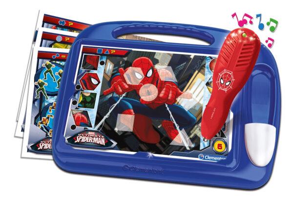 CLEMENTONI - 13269 - Sapientino Travel Quiz Spiderman Spiderman Unisex 12-36 Mesi, 3-4 Anni, 3-5 Anni, 5-7 Anni, 5-8 Anni Marvel