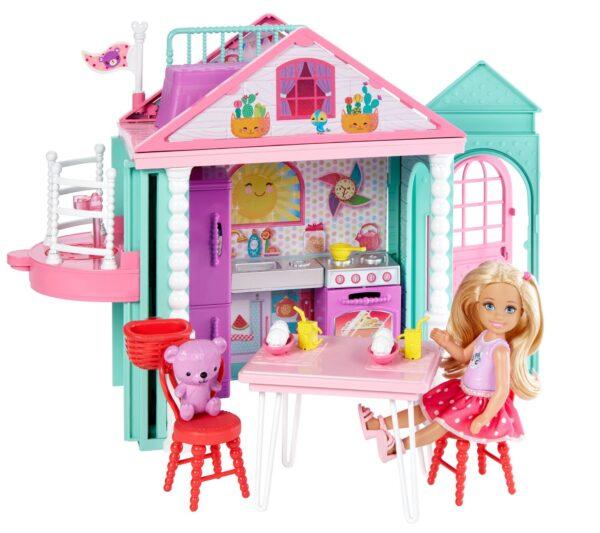 La Casa di Chelsea Barbie Femmina 12-36 Mesi, 12+ Anni, 3-5 Anni, 5-8 Anni, 8-12 Anni ALTRI