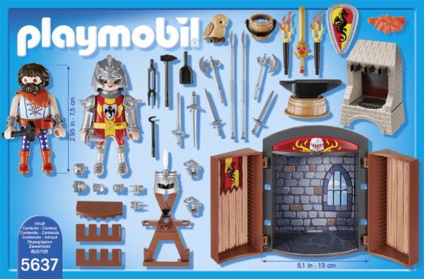 PLAY BOX BOTTEGA DELLE SPADE ALTRI Maschio 3-4 Anni, 5-7 Anni, 8-12 Anni Playmobil Knights