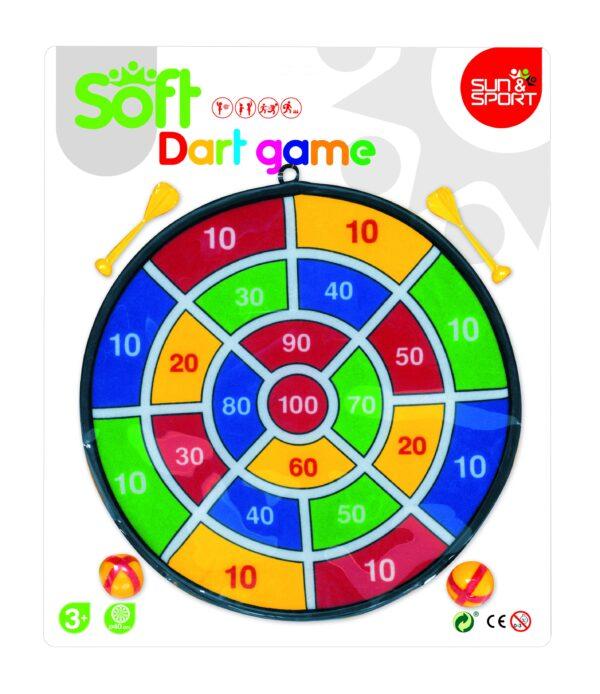 DART GAME CON PALLINE E DARDI IN VELCRO - Sun&sport - Toys Center - SUN&SPORT - Giochi per attività sportive