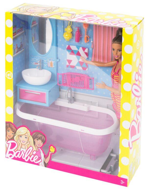 ALTRI Barbie Barbie e i suoi arredamenti 12-36 Mesi, 12+ Anni, 3-5 Anni, 5-8 Anni, 8-12 Anni Femmina