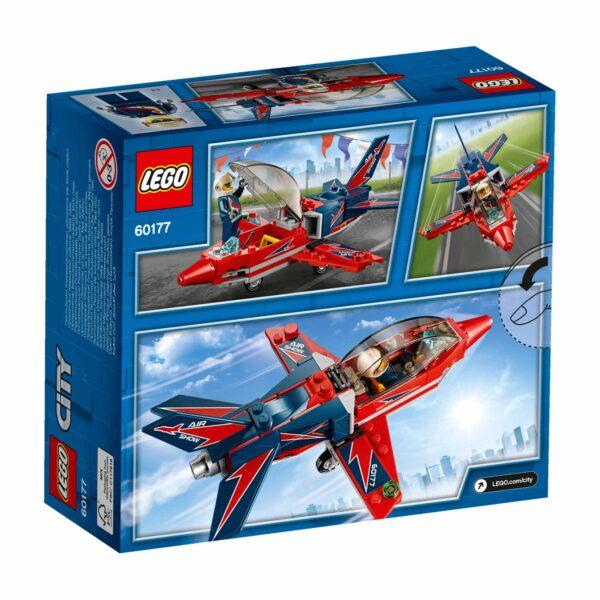 LEGO CITY ALTRI 60177 - Jet acrobatico Maschio 12+ Anni, 3-5 Anni, 5-8 Anni, 8-12 Anni