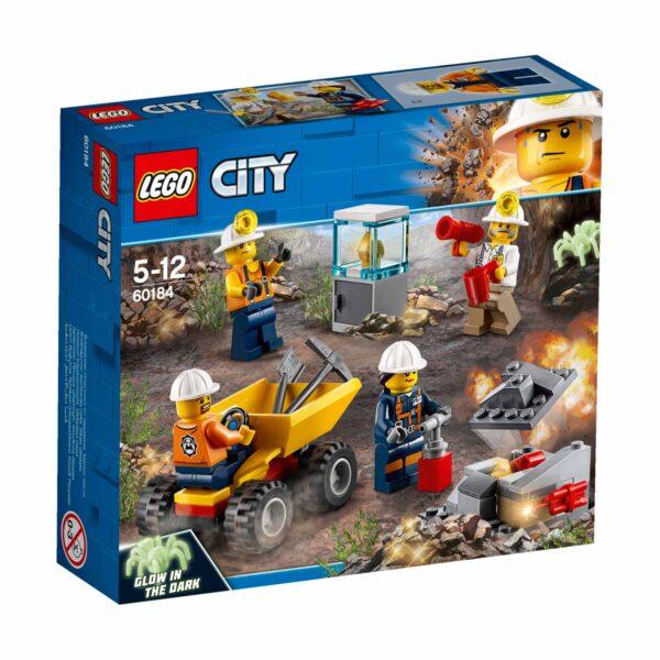 LEGO City - Team della miniera -  60184 LEGO CITY Maschio 12+ Anni, 3-5 Anni, 5-8 Anni, 8-12 Anni ALTRI