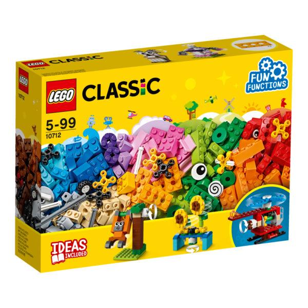 10712 - Mattoncini e ingranaggi - Lego Back to School - LEGO - Marche - LEGO CLASSIC - Costruzioni