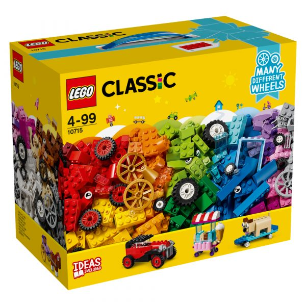 10715 - Mattoncini su ruote - Lego Classic - Toys Center LEGO CLASSIC Unisex 12+ Anni, 3-5 Anni, 5-8 Anni, 8-12 Anni ALTRI