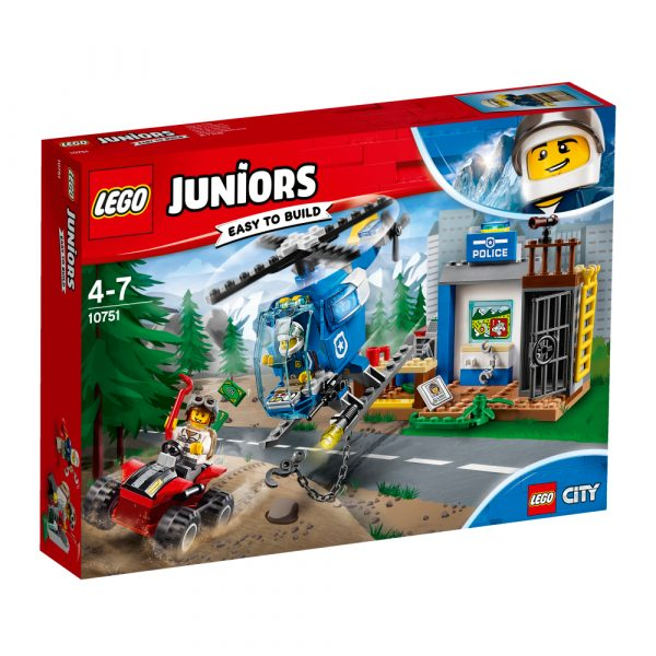10751 - Inseguimento della polizia di montagna - Lego Juniors - Toys Center LEGO JUNIORS Maschio 3-5 Anni, 5-8 Anni, 8-12 Anni ALTRI