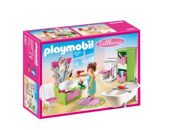 5307 -SALA DA BAGNO - PLAYMOBIL - DOLL HOUSE - Fino al -30%
