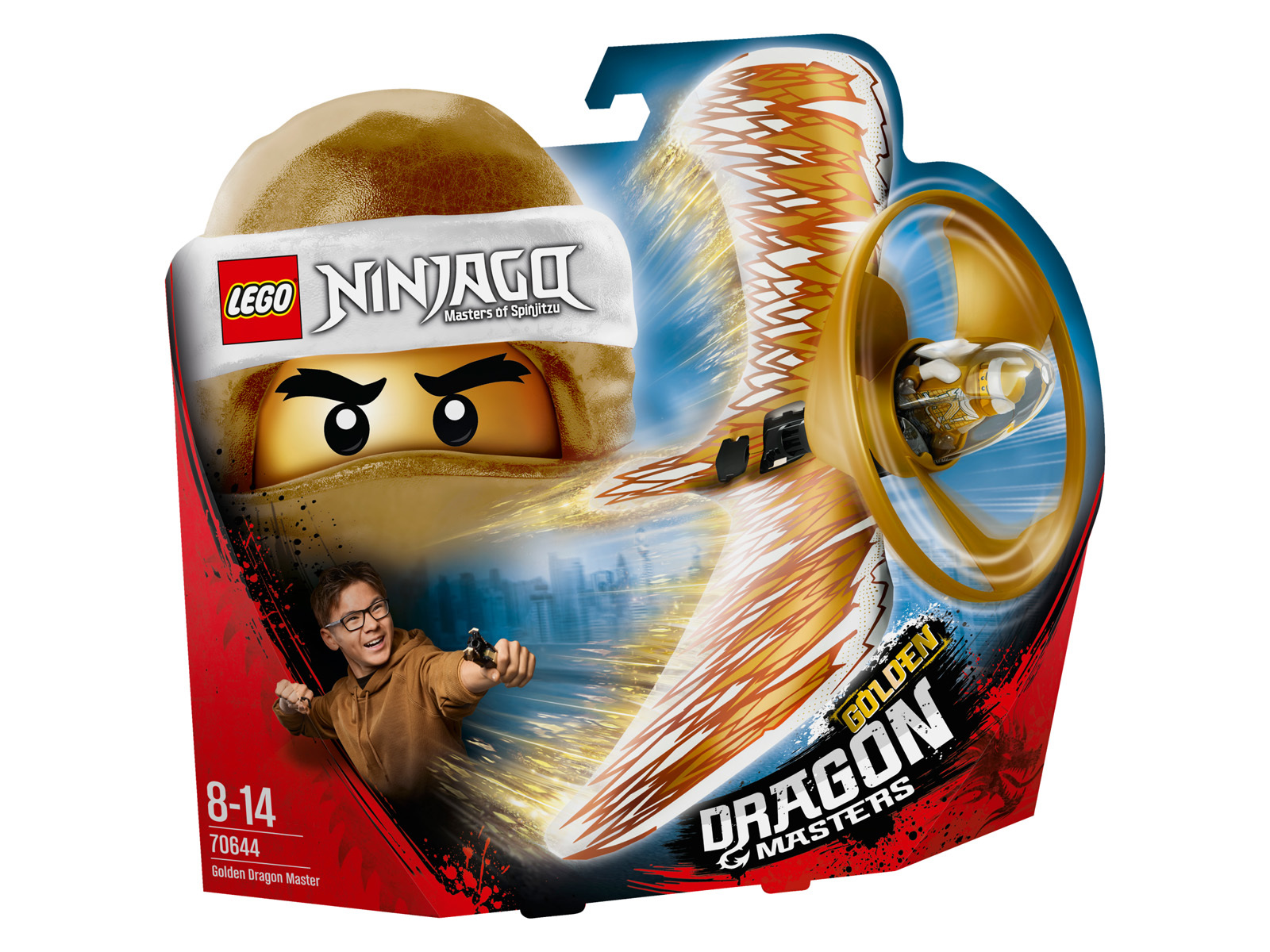 70644 - Maestro dragone d'oro - Lego Ninjago - Toys Center LEGO NINJAGO Unisex 12+ Anni, 5-8 Anni, 8-12 Anni ALTRI
