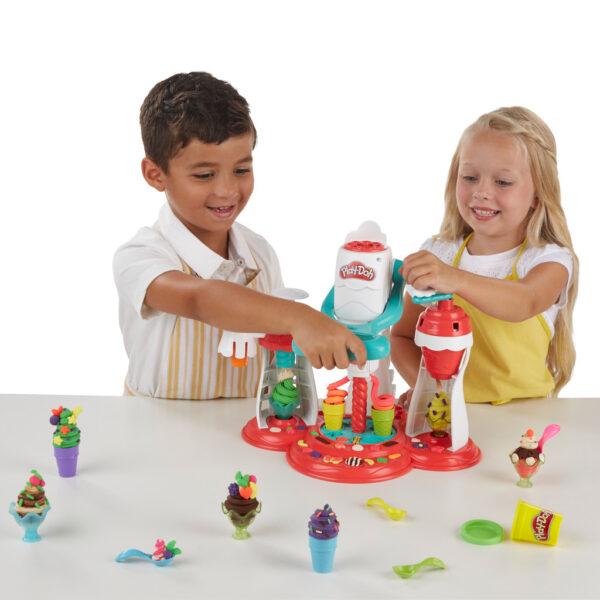 PLAY-DOH ALTRI Play-Doh – La Fabbrica dei gelati Unisex 12-36 Mesi, 12+ Anni, 3-5 Anni, 5-8 Anni, 8-12 Anni