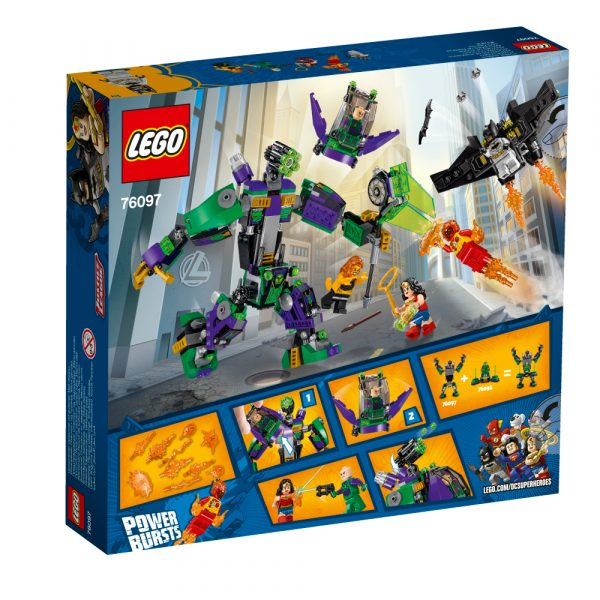 76097 - Duello robotico con Lex Luthor™ - Lego Super Heroes - Toys Center ALTRI Maschio 12+ Anni, 5-8 Anni, 8-12 Anni LEGO SUPER HEROES