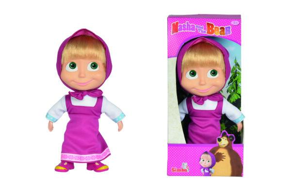 Bambola Masha cm.23 capelli ALTRO Femmina 12-36 Mesi, 3-4 Anni, 3-5 Anni, 5-7 Anni, 5-8 Anni Masha e Orso