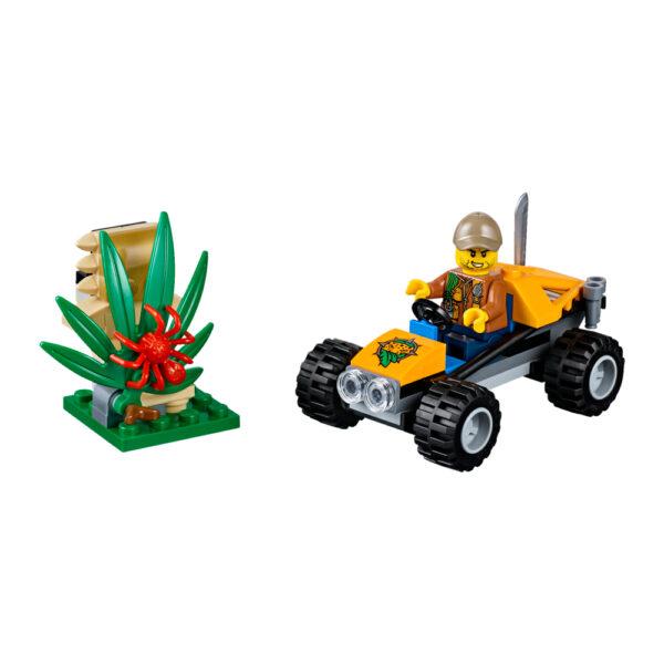 LEGO CITY ALTRI LEGO 60156 - Buggy della giungla Maschio 12+ Anni, 3-5 Anni, 5-8 Anni, 8-12 Anni