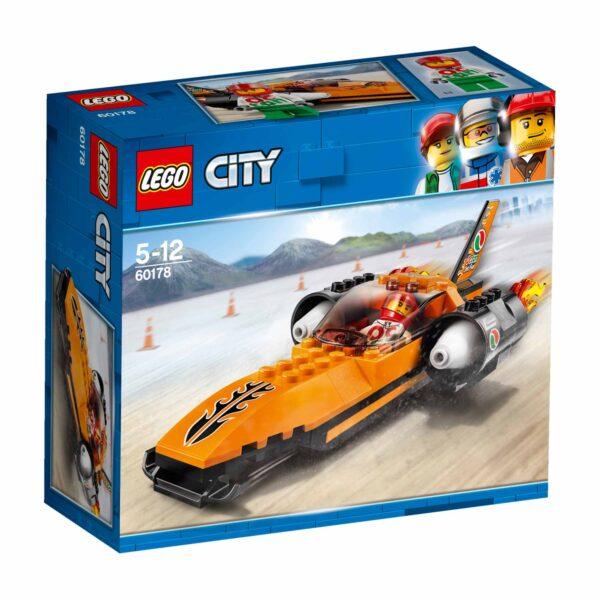 60178 - Bolide da record - Lego City - Toys Center LEGO CITY Maschio 12+ Anni, 3-5 Anni, 5-8 Anni, 8-12 Anni ALTRI