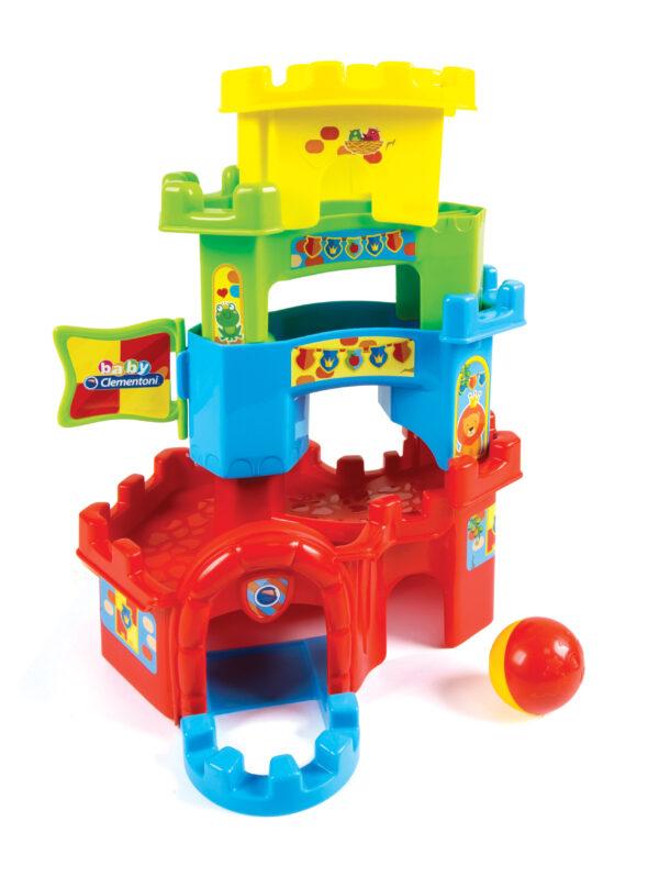 CASTELLO CUCU' SCIVOLA GIU' - Altro - Toys Center ALTRI Unisex 0-12 Mesi, 12-36 Mesi, 3-5 Anni ALTRO