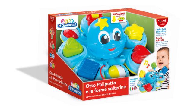 OTTO POLIPOTTO DELLE FORME SALTERINE - Altro - Toys Center ALTRO Unisex 0-12 Mesi, 12-36 Mesi, 3-5 Anni ALTRI