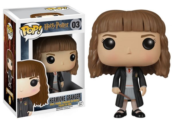 POP Movies: Harry Potter - Hermione Granger FUNKO POP! Unisex 12-36 Mesi, 12+ Anni, 3-5 Anni, 5-8 Anni, 8-12 Anni HARRY POTTER