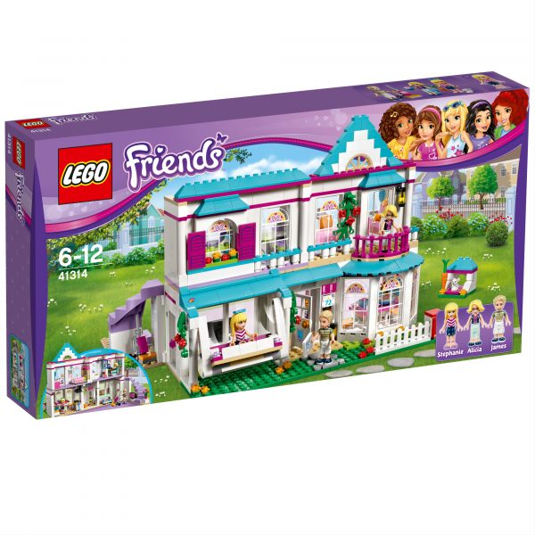 41314 - La casa di Stephanie - Lego Friends - Toys Center LEGO FRIENDS Femmina 5-7 Anni, 8-12 Anni ALTRI