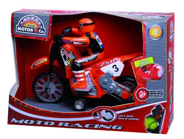 MOTO RACING - Giocattoli Toys Center - MOTOR&CO - Veicoli giocattolo a retroricarica e a frizione