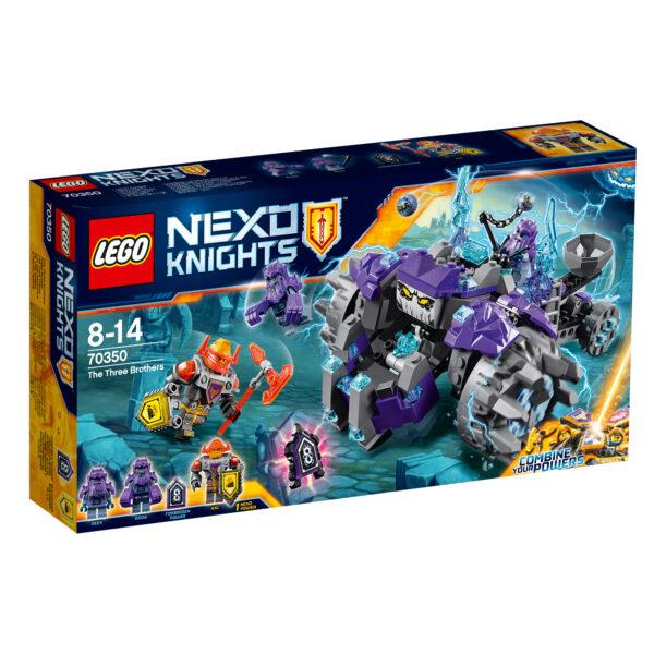 70350 - Tre Fratelli - Lego Nexo Knights - Toys Center LEGO NEXO KNIGHTS Maschio 12+ Anni, 8-12 Anni ALTRI
