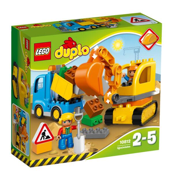 10812 - Camion e scavatrice cingolata LEGO DUPLO Unisex 12-36 Mesi, 3-4 Anni, 3-5 Anni, 5-7 Anni, 5-8 Anni ALTRI