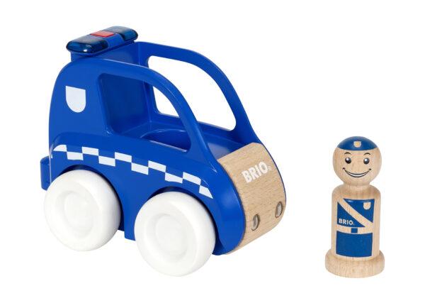 BRIO macchina della polizia luci e suoni ALTRI Unisex 0-2 Anni, 12-36 Mesi, 3-4 Anni, 3-5 Anni BRIO