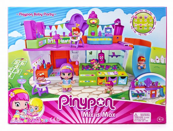 PINYPON BABY PARTY PINYPON Femmina 3-5 Anni, 5-8 Anni ALTRI