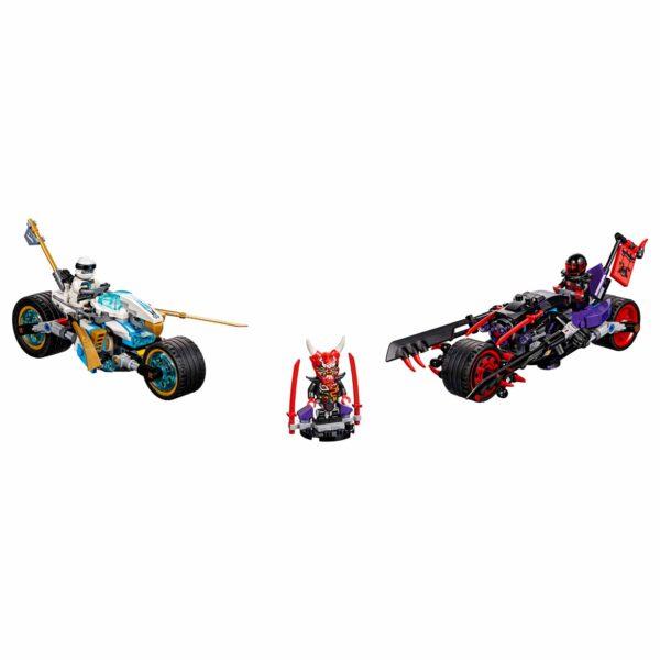 LEGO NINJAGO ALTRI 70639 - Gara su strada del Giaguaro-serpente - Lego Ninjago - Toys Center Maschio 12+ Anni, 5-8 Anni, 8-12 Anni